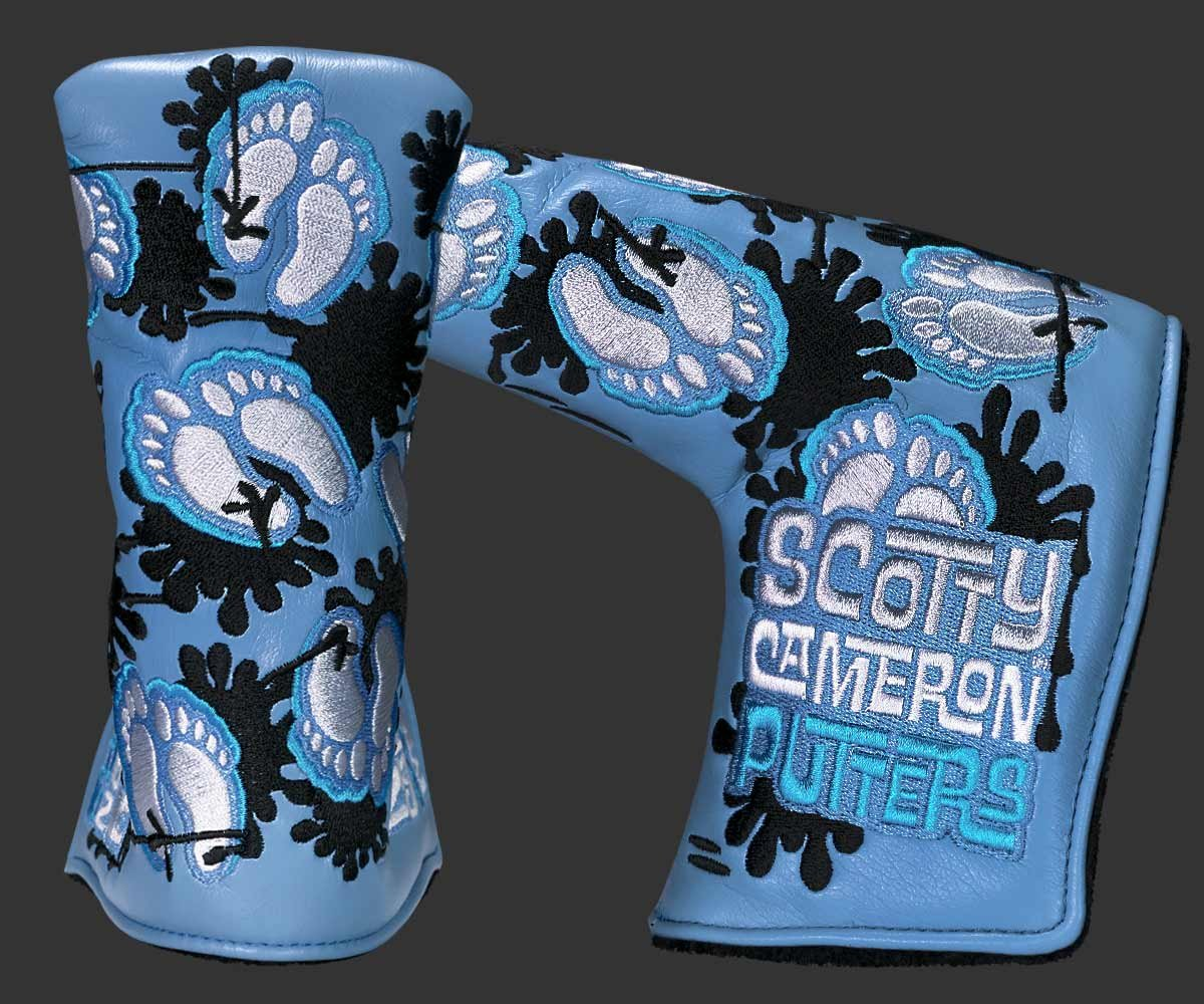 Scotty Cameron 2017 PGA Championship ''Tar Heels'' Limited Edition Putter HeadCover by Scotty Cameron (Image #2)