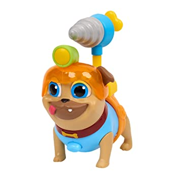 Amazon Com Puppy Dog Pals Rolly With Drill Helmet Toys Games