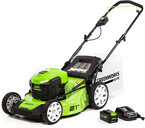 Greenworks M-210 21-Inch 40V Brushless Push Mower