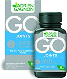 Adrien Gagnon - Turmeric with Devil's Claw, Go Joints Anti-Inlfammatory, Joint Pain Relief Support, 90 capsules