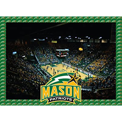 R and R Imports George Mason Patriots Jigsaw Puzzle : Item Type Keyword Refrigerator Magnets : Sports & Outdoors