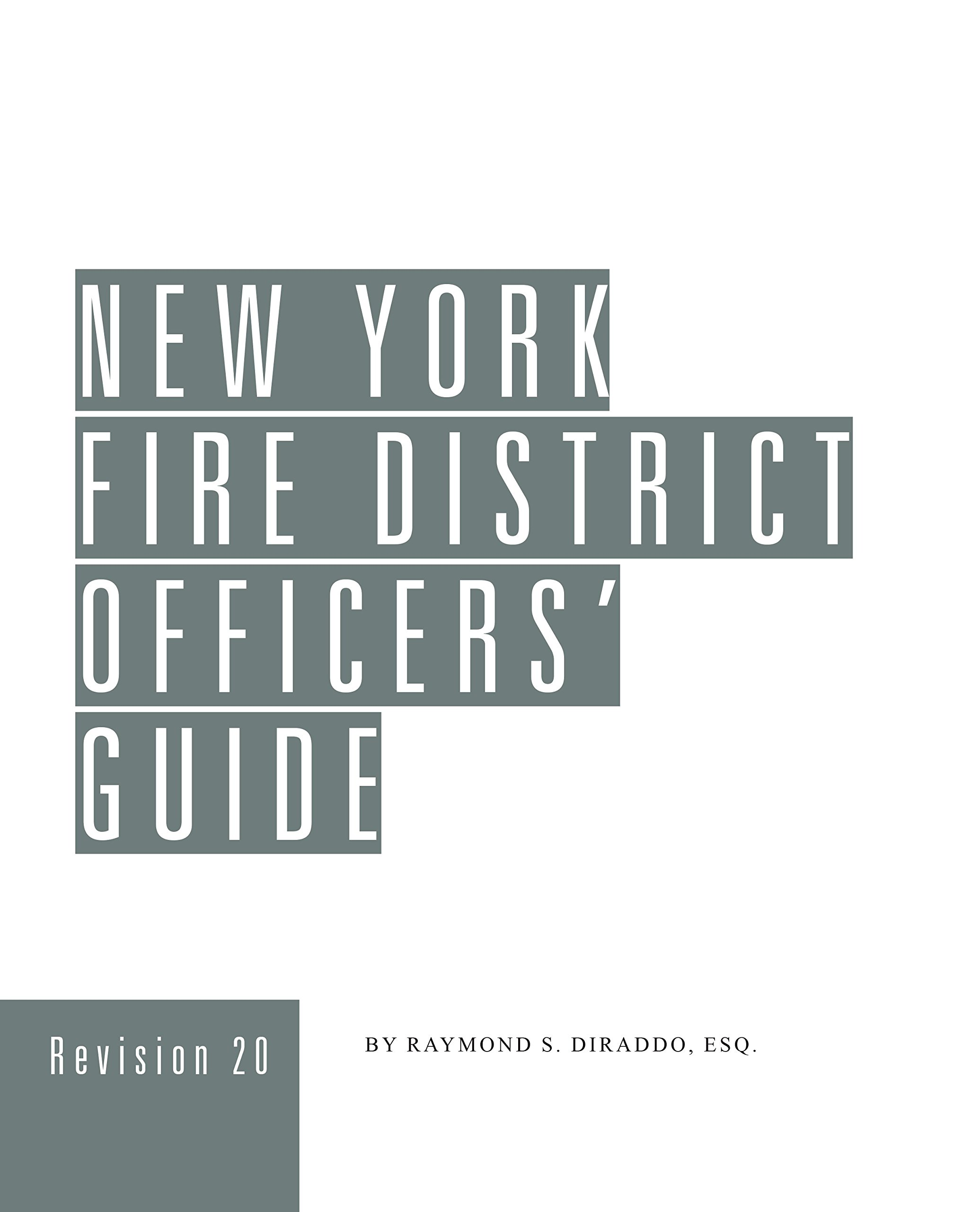 Read Online New York Fire District Officers' Guide (Revision 20) Text fb2 book
