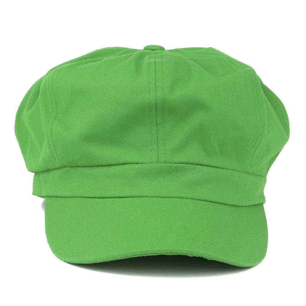 59279d8bfe3 6パネルのキャスケット軽量オールシーズン対応型帽子ファッショナブルでスタイリッシュなワンサイズゴムバンド付き留め代女性へ