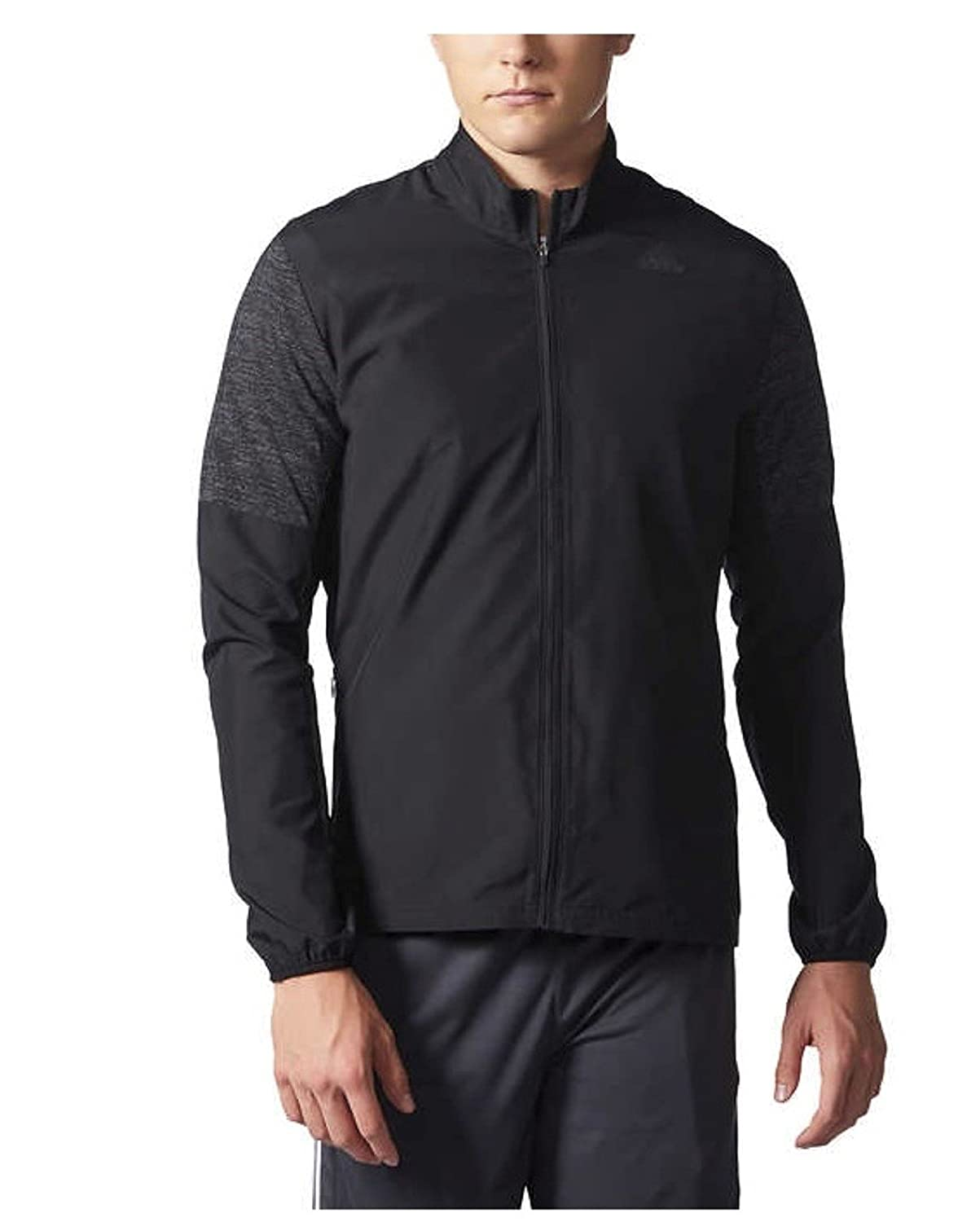 016407051535 Enjoy this lightweight Adidas track jacket for men! Perfect for running