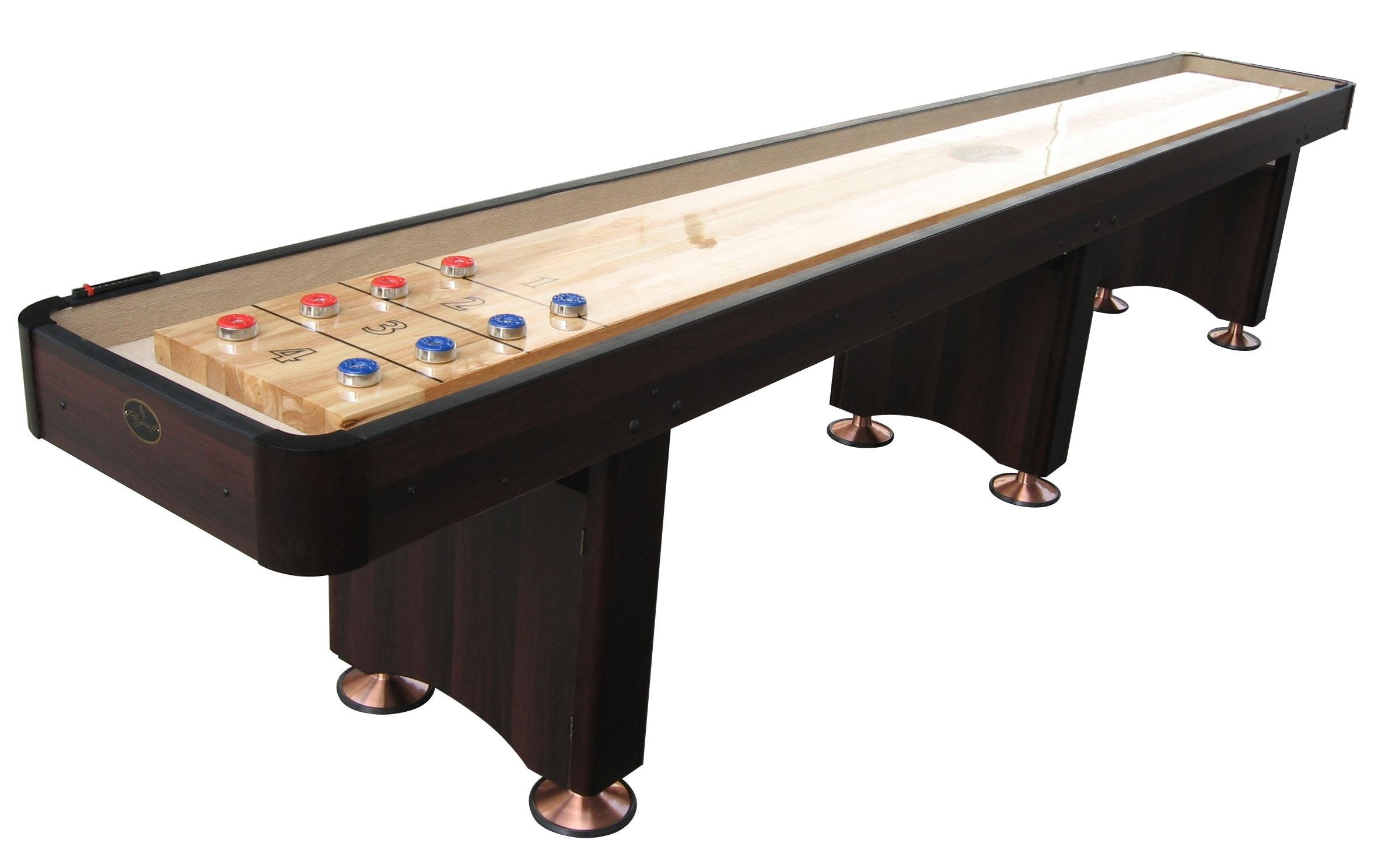 Best rated in shuffleboard tables helpful customer reviews playcraft woodbridge shuffleboard table espresso 12 feet product image gamestrikefo Image collections