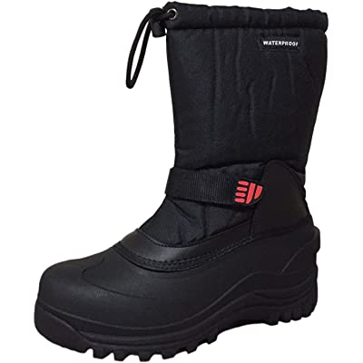 CLIMATEX Climate X Mens Ysc5 Snow Boot, Black, 8.5 | Snow Boots