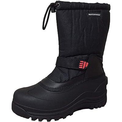 Climate X Mens YC5 Snow Boot, Black, 11.5 M US | Snow Boots