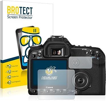 BROTECT Protector Pantalla Cristal Compatible con Canon EOS 50D ...