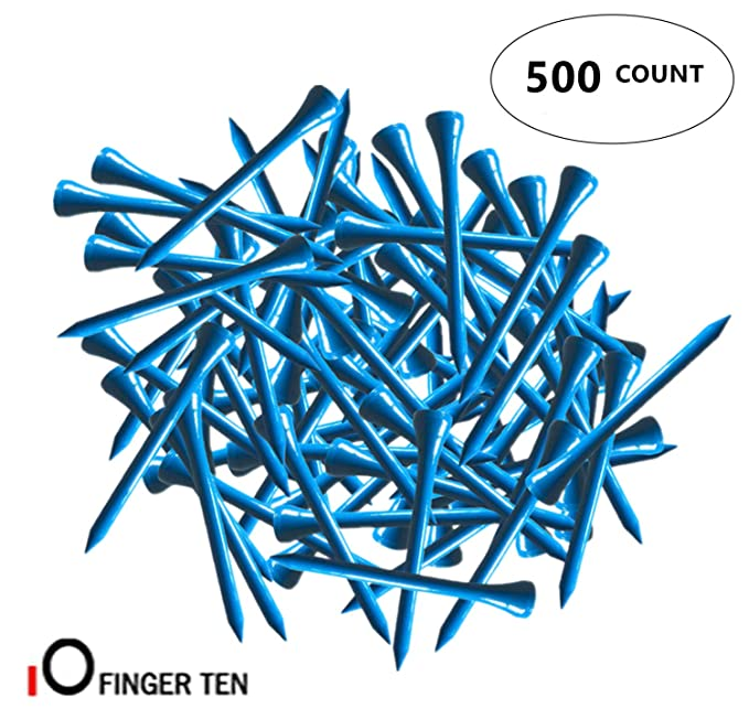 Amazon.com: FINGER TEN Golf Tees 3 1/4 pulgadas madera Color ...