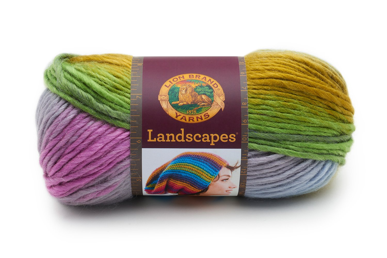 Lion Brand Yarn 135-302H Hometown USA Yarn Aspen Tweed
