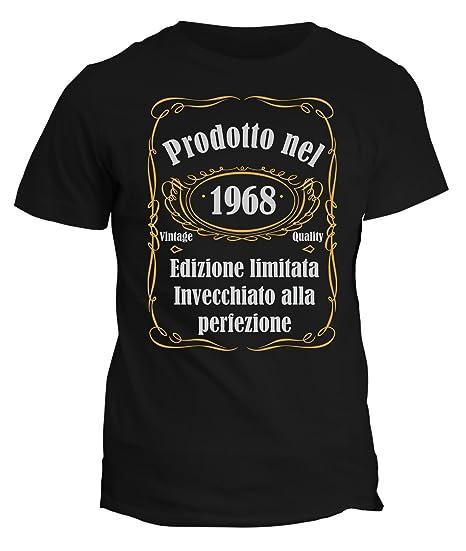 Tshirt Prodotto 1968 Divertente Nel Fashwork Invecchiato Alla gYbyf7v6