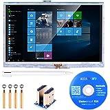 Kuman 5インチ HDMI Raspberry Pi用ディスプレイ 800*480 解像度 TFTモニタ タッチスクリーン タッチパネル Raspberry Pi 3 2 Model B B+ A A+ 用ディスプレイ ラズベリーパイ SC5AN
