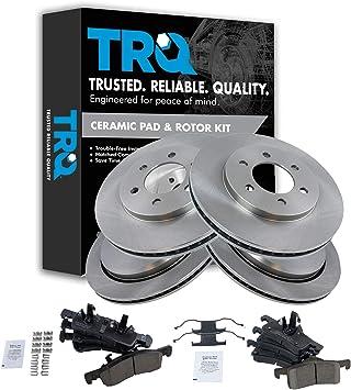 Front and Rear Premium Quality Ceramic Brake Pads Kit VTDC000314