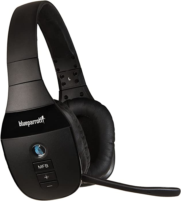 BlueParrott S450-XT Voice-Controlled Bluetooth Headset – Industry Leading Sound with Long Wireless Range, Extreme Comfort and Up to 24 Hours of Talk Time