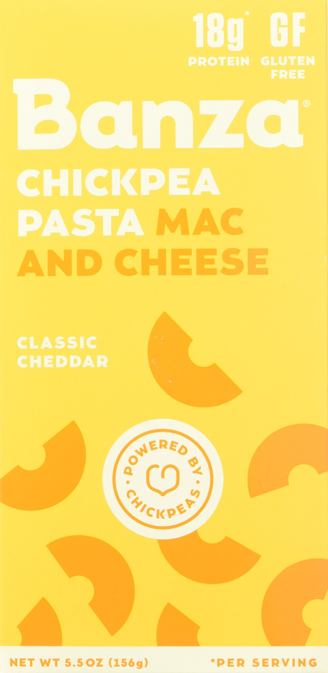 Banza, Mac And Cheese Chickpea Cheddar, 5.5 Ounce