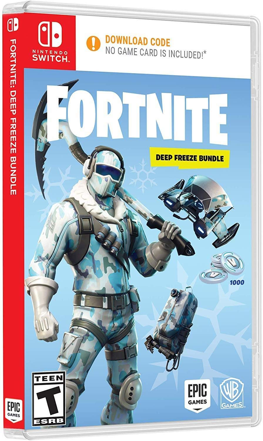 Warner Bros Fortnite: Deep Freeze Bundle - Nintendo Switch (B07HFQSHSS) Amazon Price History, Amazon Price Tracker