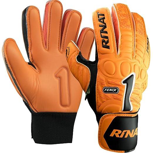 6 opinioni per Rinat Fenix 2.0 AS- Guanti da portiere unisex, colore arancione, taglia 7