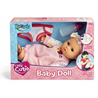 Kidoozie Snug and Hug Baby Doll – Includes Removable Diaper and a Bottle – Ages...