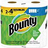 Bounty 76228 Select-a-Size Paper Towels, 2-Ply, White, 5.9 x 11, 110 Sheets/Roll, 2 Rolls/Pack, 12 Packs/Carton