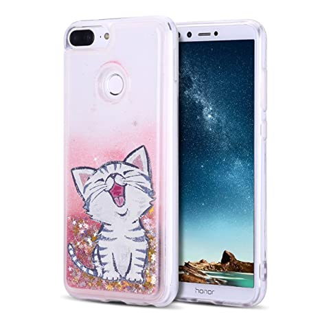 MoEvn Funda Huawei Honor 9 Lite, Gato Bling Movediza ...