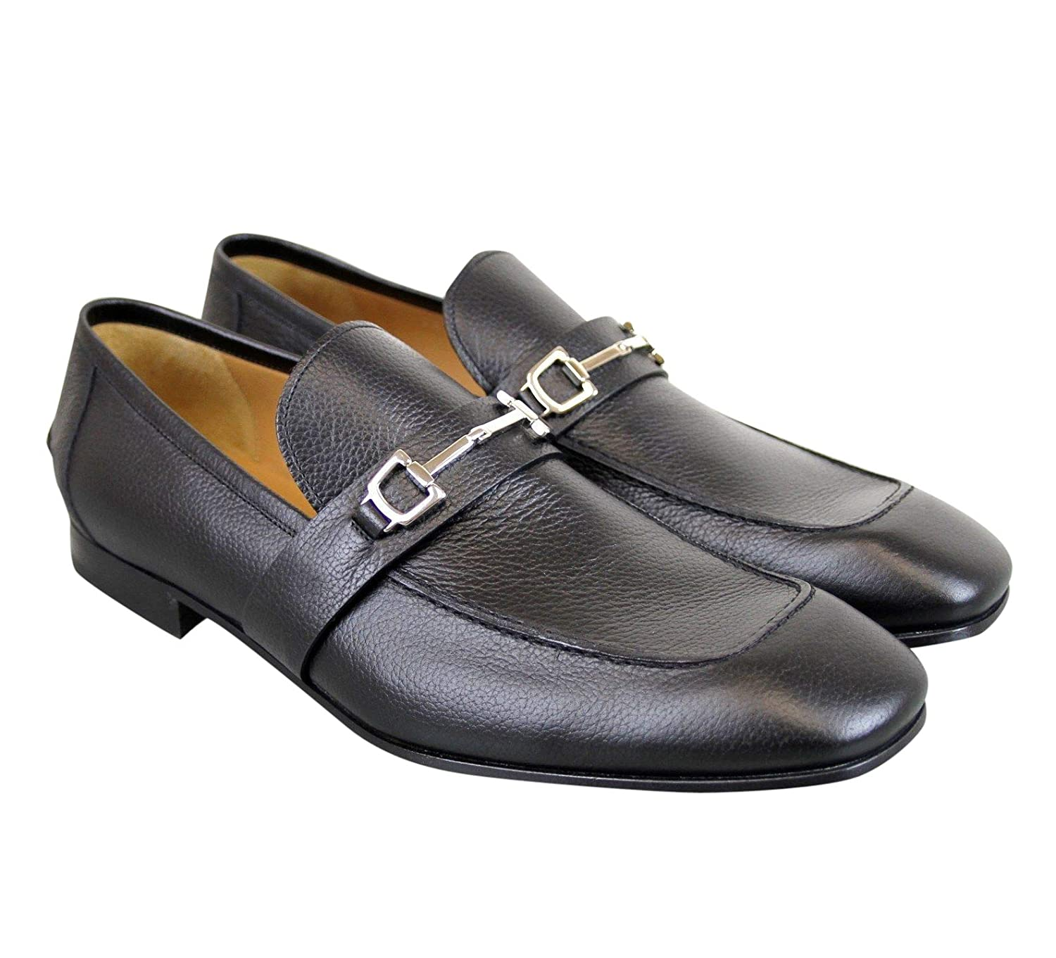 b7a4b856ee15d Amazon.com  Gucci Horsebit Black Leather Loafer 253302 1000 (14.5 G   15.5  US)  Shoes