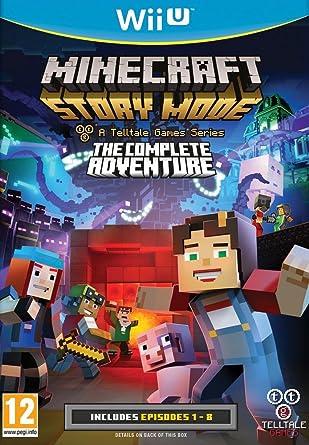 Minecraft Story Mode Laventure Complète Nintendo Wii U Amazon - Minecraft online spielen wii u