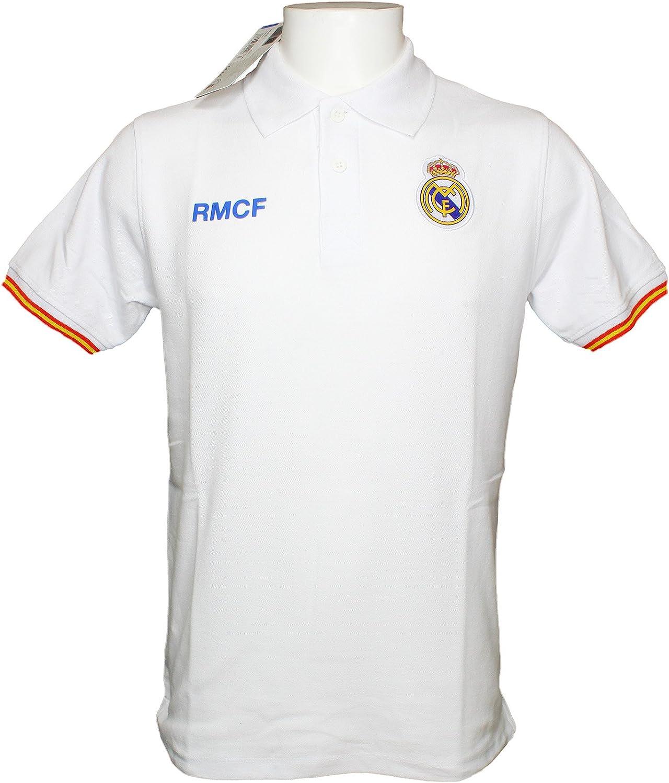 Polo Real Madrid Adulto - Producto Oficial: Amazon.es: Deportes y ...