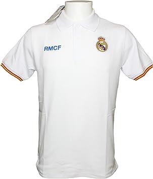 Polo Real Madrid Adulto - Producto Oficial: Amazon.es: Deportes y aire libre