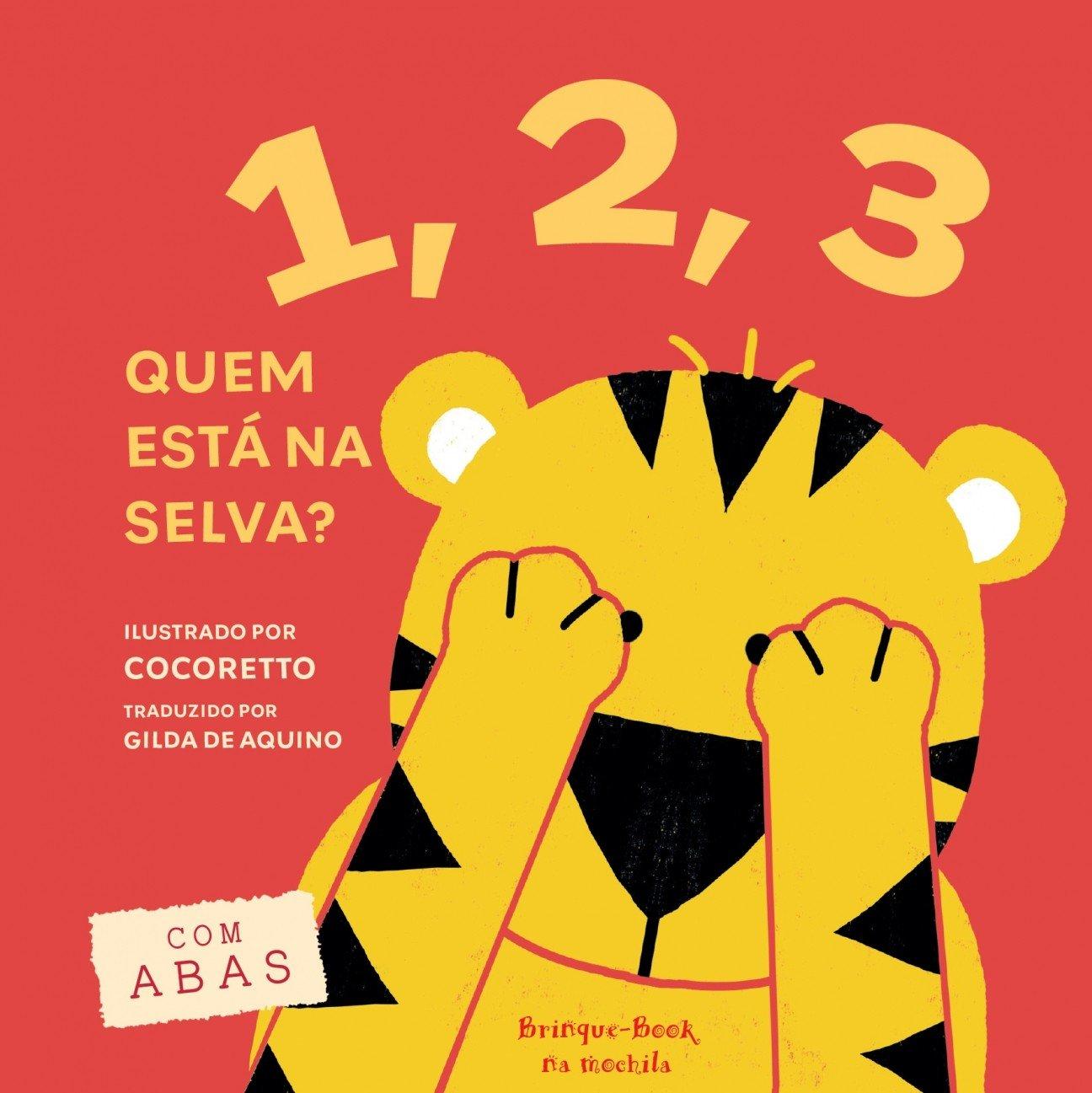 1, 2, 3: Quem Está na Selva? (Portuguese Brazilian) Hardcover – 2000