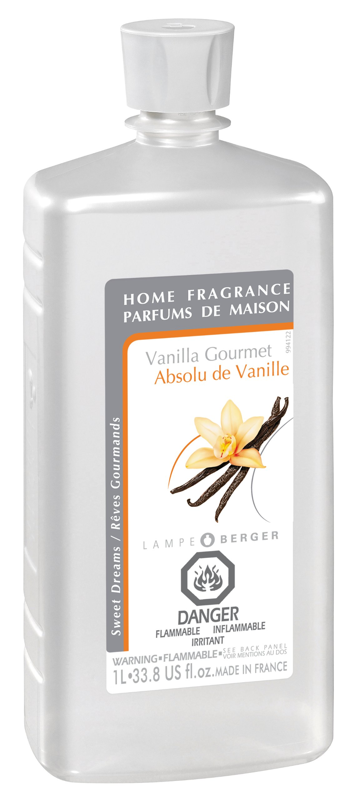 Lampe Berger Fragrance, 33.8 Fluid Ounce, Vanilla Gourmet