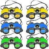 """SRENTA 3.5"""" x 5"""" Toy Binoculars with Neck String, Novelty Binoculars for Children, Sightseeing, Bird Watching, Wildlife…"""