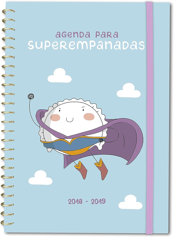 Agenda 2018-2019 Croqueta y Empanadilla: 12 (TANTANFAN): Croqueta y Empanadilla: Amazon.es: Oficina y papelería