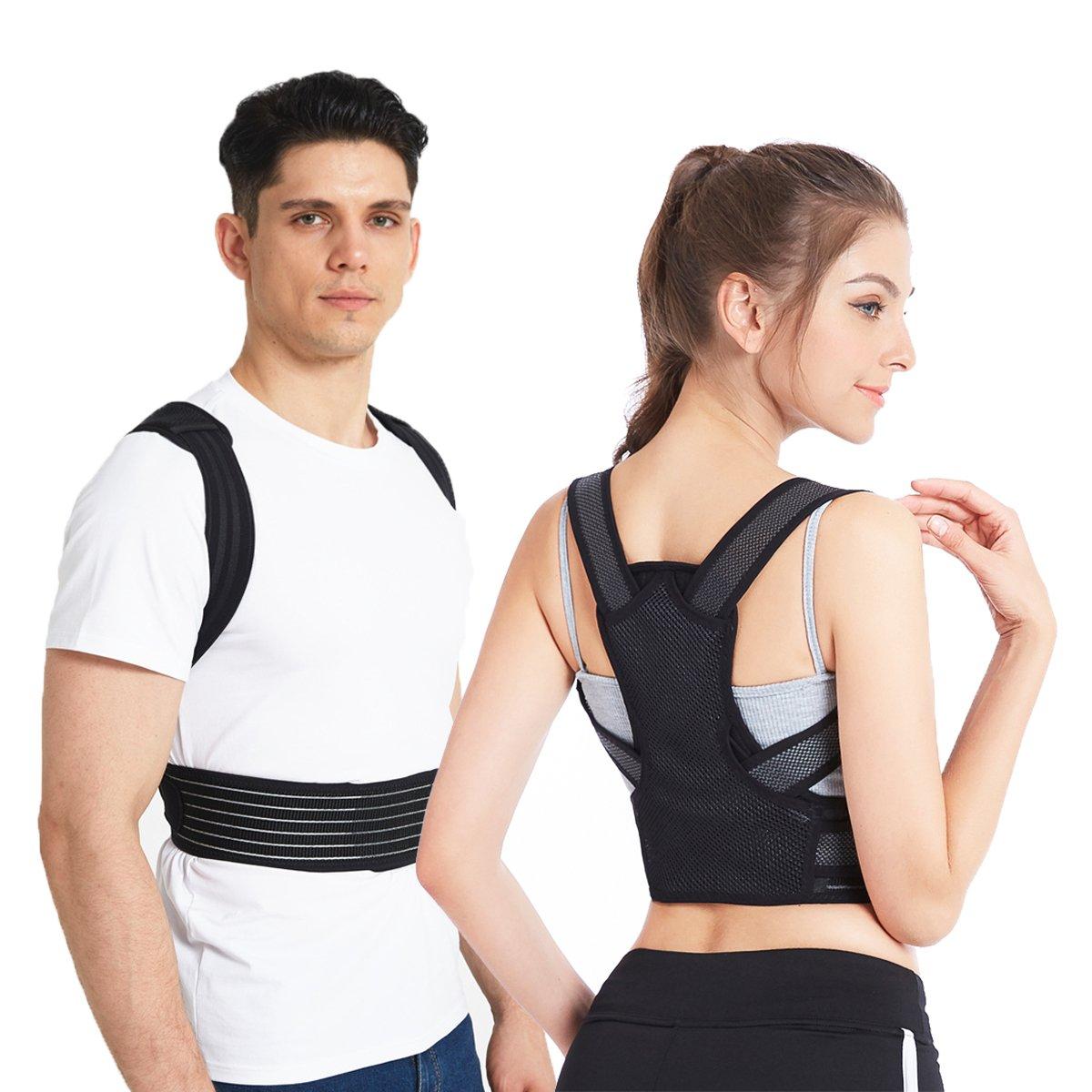 Posture Corrector, Slimerence, Scoliosis Humpback Correction Belt, Adjustable Comfort Invisible Belt, Back Humpback Kyphosis, for Man Woman Adult Students Children