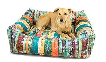leylas Salón Mundo Cama para Perros Wood Perros Cojín Perro Sofá para Perros Lavable Resistente