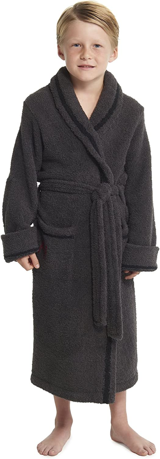 Barefoot Dreams CozyChic Unisex Youth Classic Mickey /& Minnie Mouse Robe Disney Series