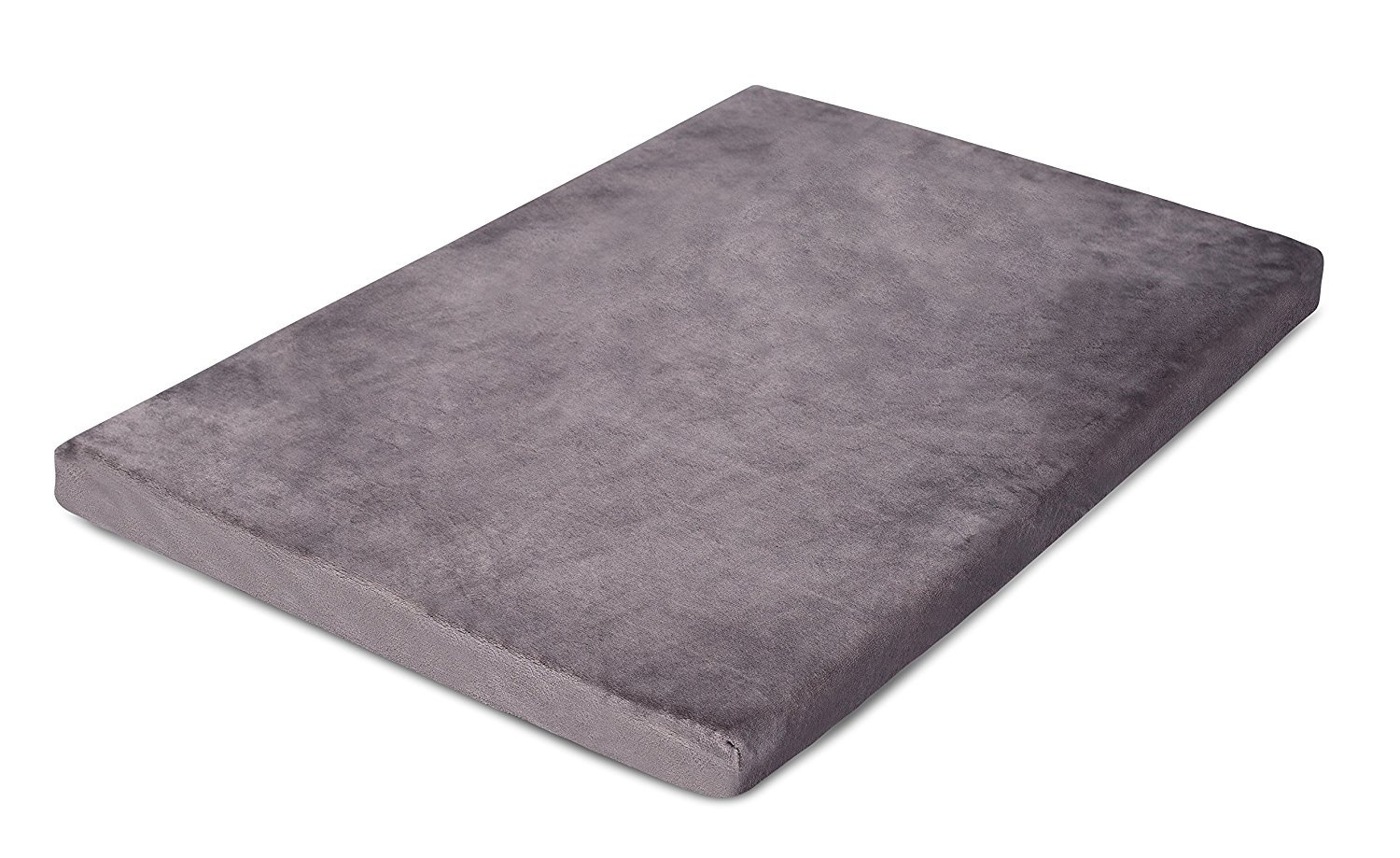 BIRDROCK HOME 2 Memory Foam Dog Beds – Ultra Soft Plush Pet Bed – Removable Cover – Pet – Crate Bed