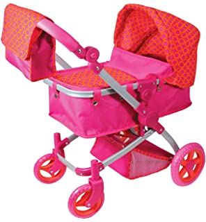 Amazon.com: Lissi Doll Stroller Pram: Toys & Games