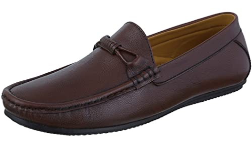 4ff5d6a90ee Marshal Men s Tan Stylish Formal Shoes Casual Loafers Moccasin 10 Size  UK India