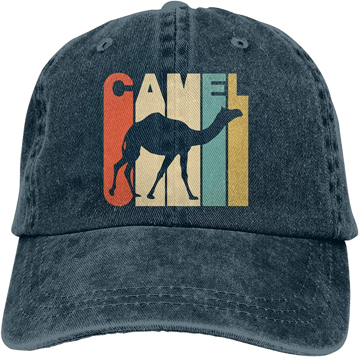 Vintage Style Camel Unisex Personalize Cowboy Casquette Adjustable Baseball Cap