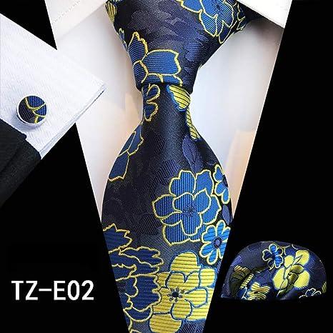 WOXHY Corbata de los Hombres Moda 100% Corbatas de Seda para ...
