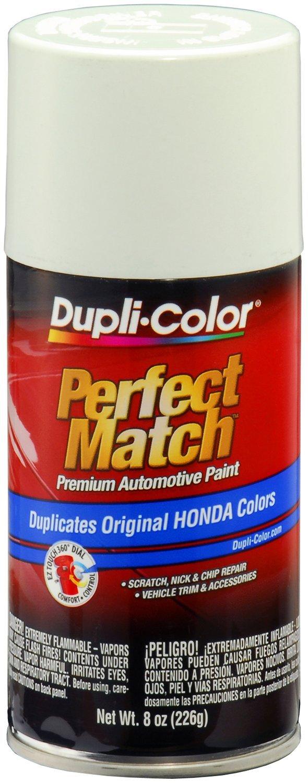 Dupli-Color BHA0978-6 PK (EBHA09787-6 PK) Taffeta White Honda Perfect Match Automotive Paint - 8 oz. Aerosol, (Case of 6)
