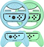 Grip for Nintendo Switch Controller - 4 Pack Animal Crossing Racing
