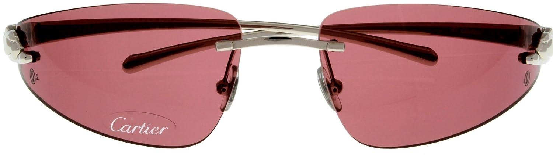 Amazon.com: Cartier Sunglasses Womens T8200695 Panthere Bandeau ...
