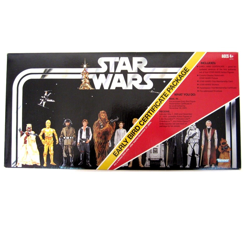 los últimos modelos Star Star Star Wars 30th Anniversary Early Bird Certificate  ¡no ser extrañado!
