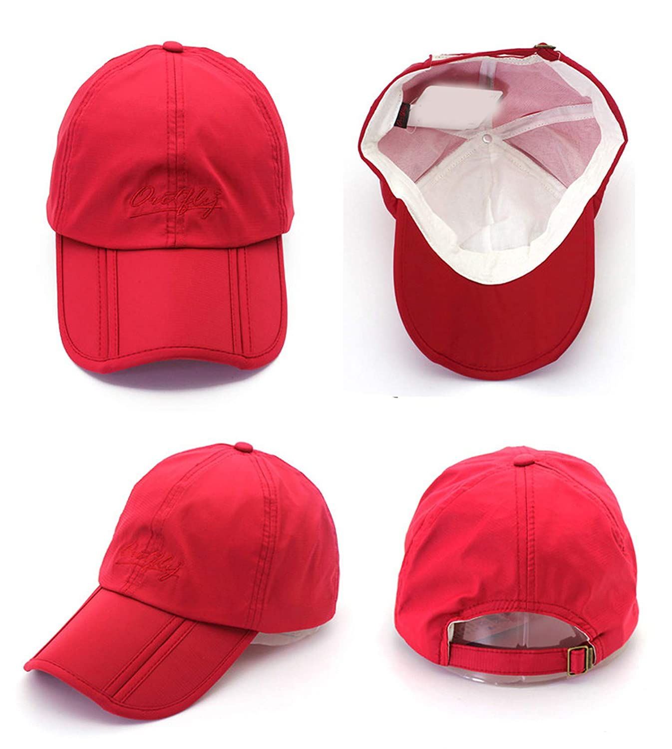 Sun hat Cap visera Cap Outdoor Foldable Quick Dry Visor Cap Fishing hat Men Sports Duck Cap at Amazon Mens Clothing store: