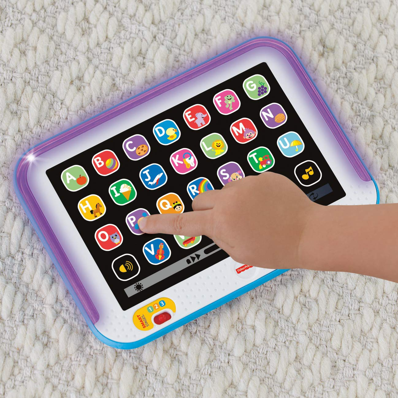 Fisher-Price Laugh & Learn Smart Stages Tablet, Blue by Fisher-Price (Image #8)