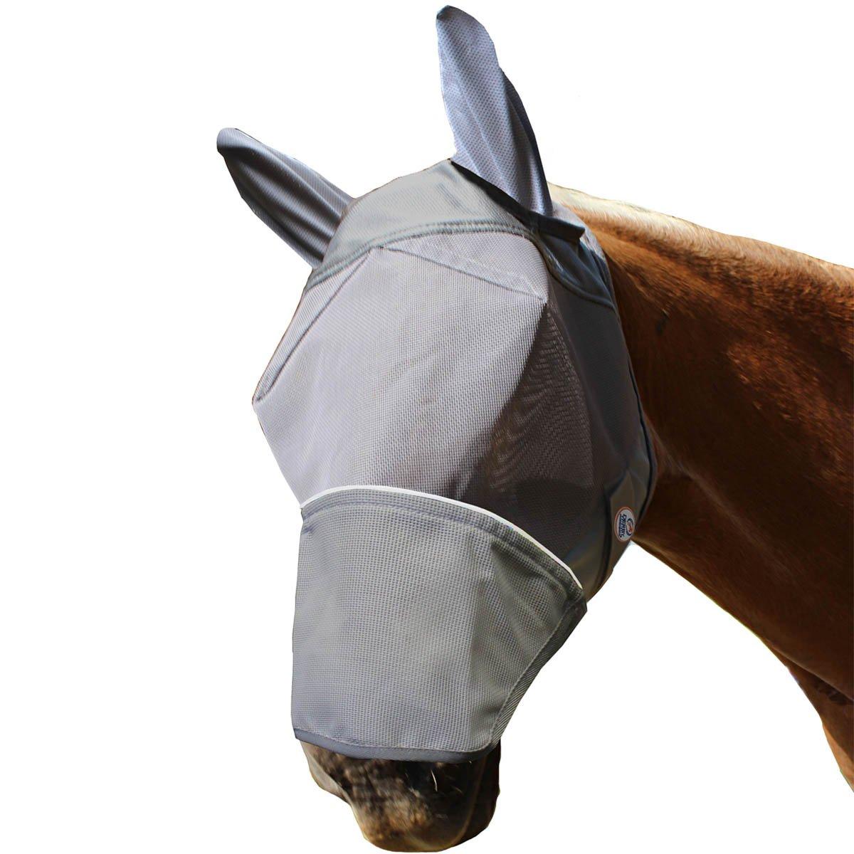 ダービーReflective Flyマスクと耳と鼻W / 1年限定保証 B00LPSFL5U Pony  Pony