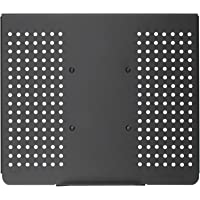 WALI Laptop Holder Tray for 1 Notebook up to 17 inch, Mount Compatible with VESA 100 mm, 22 lbs Capacity with Vented…
