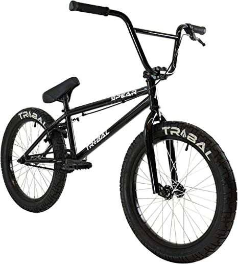 Tribal Spear - Bicicleta BMX, Color Negro Brillante: Amazon.es ...