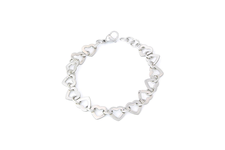 Stainless Steel Heart Bracelet 7